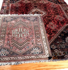 Home rug cleaning service photos