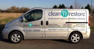 van1 cleaning service Clean n Restore